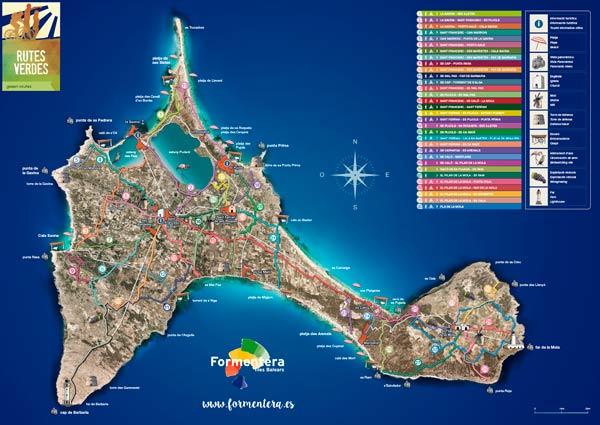 Turismo De Formentera Folletos Mapas Y Guias De Formentera